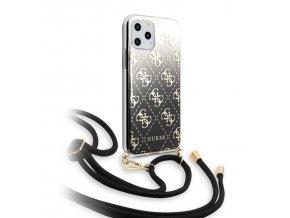 Ochranný kryt na iPhone 11 Pro - Guess, 4G Gradient Black