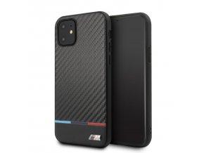 Ochranný kryt na iPhone 11 Pro MAX - BMW, M Carbon Cover Tricolore