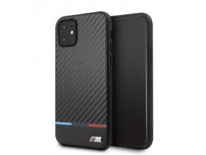 Ochranný kryt na iPhone 11 - BMW, M Carbon Cover Tricolore