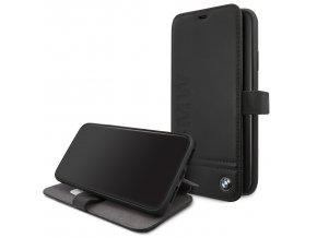 Ochranné pouzdro na iPhone 11 Pro MAX - BMW, Logo Impring Book Black