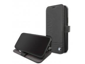 Ochranné pouzdro na iPhone 11 - BMW, Logo Impring Book Black
