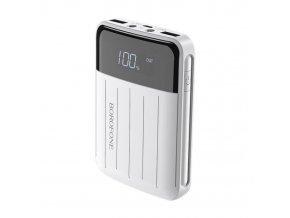 Externí baterie / powerbanka - Borofone, BT21 Intelligent 10000mAh White