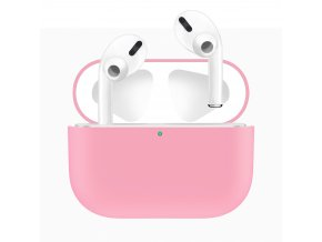 Pouzdro na sluchátka AirPods Pro - Silicone Pink