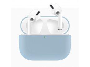 Pouzdro na sluchátka AirPods Pro - Silicone Blue