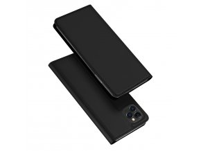 Knížkové pouzdro na iPhone 11 Pro - DuxDucis, SkinPro Black