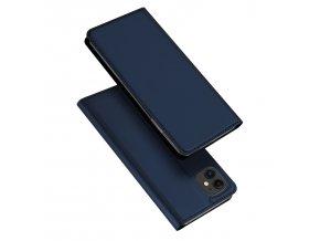 Knížkové pouzdro na iPhone 11 - DuxDucis, SkinPro Blue
