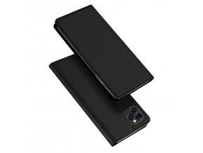 Knížkové pouzdro na iPhone 11 Pro MAX - DuxDucis, SkinPro Black