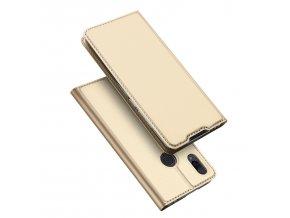 Pouzdro pro Xiaomi Redmi Note 7 - DuxDucis, SkinPro Gold
