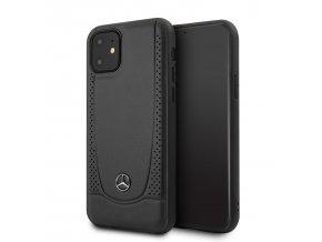 Ochranny kryt na iPhone 11 - Mercedes, Perforation Cover Black