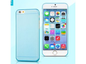 Pouzdro / kryt pro Apple iPhone 6 Plus / 6S Plus - Hoco ultratenký, Blue