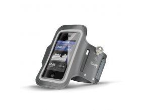 Sportovní pouzdro na ruku pro iPhone 5 / 5S / 5C / SE / 6 / 6S / 7 / 8 - CELLY, Grey