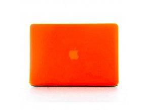Polykarbonátové pouzdro / kryt na MacBook Pro 13 (2012-2015) - matný oranžový