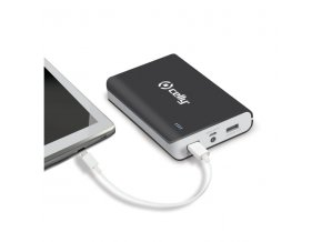 Externí baterie pro Apple iPhone a iPad - CELLY, Powerbank 10000mAh Black