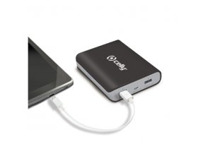 Externí baterie pro Apple iPhone a iPad - CELLY, Powerbank 8000mAh Black