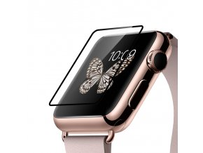 Tvrzené sklo  pro Apple Watch 42mm - Hoco, Ghost Black Rim