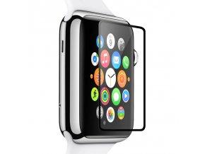 Tvrzené sklo  pro Apple Watch 38mm - Hoco, Ghost Black Rim