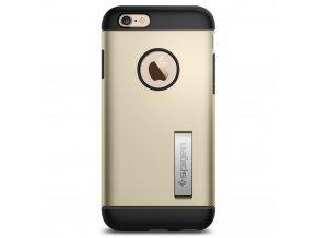 Pouzdro / kryt pro Apple iPhone 6 / 6S - Spigen, Slim Armor Champagne Gold