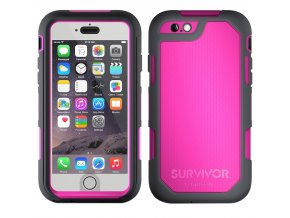Pouzdro / kryt pro Apple iPhone 6 / 6S - Griffin, Summit Pink
