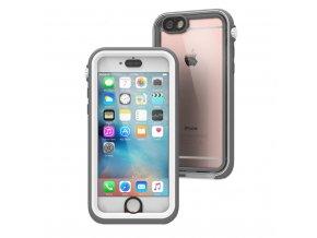 Voděodolné pouzdro / kryt pro Apple iPhone 6 / 6S - Catalyst, Waterproof White Gray