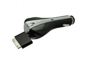 Auto-nabíječka pro iPhone 4 / 4S - CellularLine s navíjecím kabelem