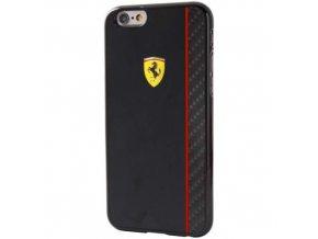 Pouzdro / kryt pro Apple iPhone 6 / 6S - Ferrari, Scuderia Black/Carbon