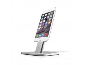 Stojan na iPhone a iPad - TwelveSouth, HiRise Silver