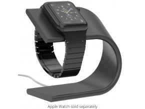 Hliníkový nabíjecí stojánek pro Apple Watch 38mm / 42mm - Nomad, Space Gray