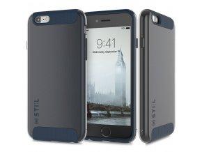 Pouzdro / kryt pro Apple iPhone 6 / 6S - STILMIND, LONDON FOG COBALT