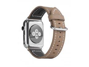 Kožený pásek / řemínek pro Apple Watch 38mm - Hoco, Luxury