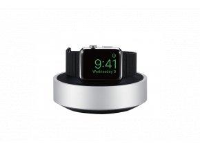 Hliníkový nabíjecí stojánek pro Apple Watch 38mm / 42mm - Just Mobile, HoverDock