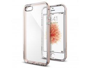 Pouzdro / kryt pro Apple iPhone 5 / 5S / SE - Spigen, Neo Hybrid Crystal Rose