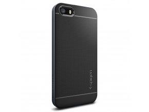 Pouzdro / kryt pro Apple iPhone 5 / 5S / SE - Spigen, Neo Hybrid Metal Slate