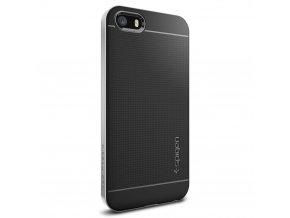 Pouzdro / kryt pro Apple iPhone 5 / 5S / SE - Spigen, Neo Hybrid Satin Silver