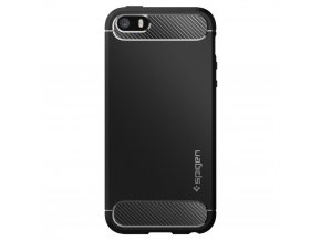 Pouzdro / kryt pro Apple iPhone 5 / 5S / SE - Spigen, Rugged Armor Black