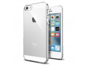 Pouzdro / kryt pro Apple iPhone 5 / 5S / SE - Spigen, Thin Fit Crystal Clear