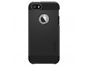 Pouzdro / kryt pro Apple iPhone 5 / 5S / SE - Spigen, Tough Armor Black