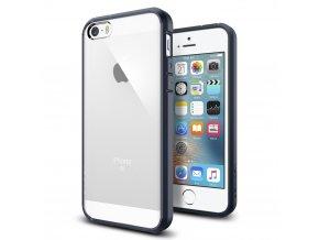 Pouzdro / kryt pro Apple iPhone 5 / 5S / SE - Spigen, Ultra Hybrid Metal Slate