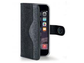 Pouzdro / kryt pro Apple iPhone 6 Plus / 6S Plus - CELLY, Onda Black - VÝPRODEJ
