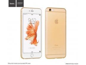 Pouzdro / kryt pro Apple iPhone 6 / 6S - Hoco, Surrounded Gold