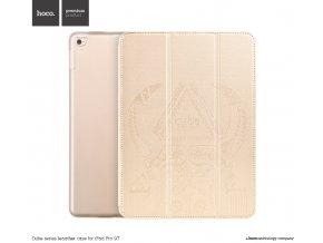 Pouzdro / kryt pro iPad Pro 9.7 - Hoco, Cube Gold