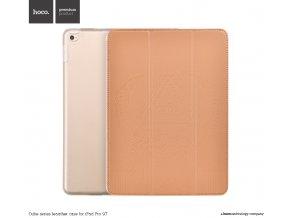 Pouzdro / kryt pro iPad Pro 9.7 (2016) - Hoco, Cube Brown