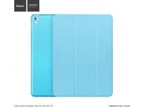 Pouzdro / kryt pro iPad Pro 9.7 - Hoco, Cube Blue