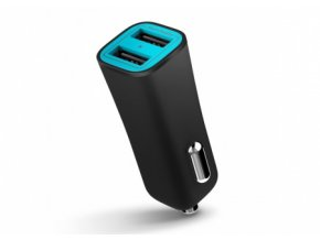 Auto-nabíječka pro iPhone / iPad / iPod touch - iLuv, Smart Charger Black