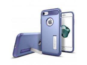Pouzdro / kryt pro Apple iPhone 7 / 8 - Spigen, Slim Armor Violet - DÁREK K OBJEDNÁVCE NAD 2500KČ