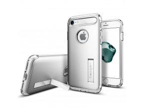 Pouzdro / kryt pro Apple iPhone 7 - Spigen, Slim Armor Satin Silver