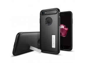 Pouzdro / kryt pro Apple iPhone 7 - Spigen, Slim Armor Black