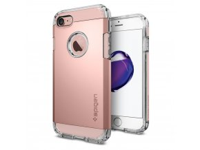 Pouzdro / kryt pro Apple iPhone 7 / 8 - Spigen, Tough Armor Rose Gold