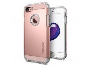Pouzdro / kryt pro Apple iPhone 7 - Spigen, Tough Armor Rose Gold
