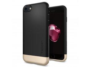 Pouzdro / kryt pro Apple iPhone 7 - Spigen, Style Armor Black