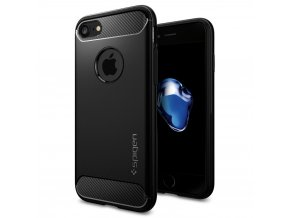Pouzdro / kryt pro Apple iPhone 7 - Spigen, Rugged Armor Black